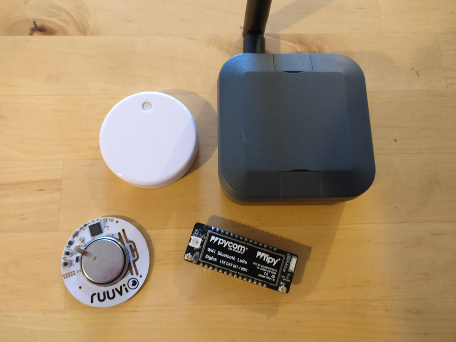Publish RuuviTag sensor data on The Things Network — RuuviTag on The